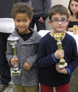 yoann Champion et Rowan Vice-Champion