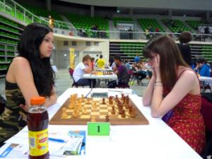 Honorine bat la n°1 du tournoi, Cécile Haussernot