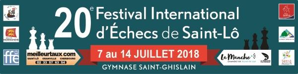Festival International échecs Saint-Lô 2018
